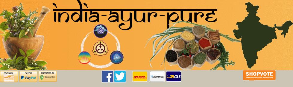India-Ayur-Pure Online Shop Ayurvedische Produkte aus Indien-Logo