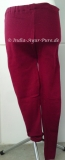 Winter Leggings dunkel rot